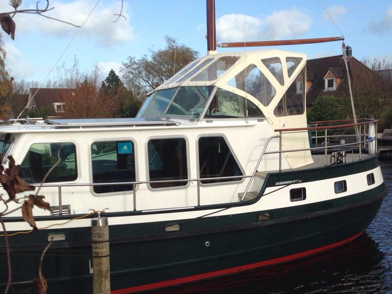 Kap bovenbesturing wit | Lauwersmeer Kotter