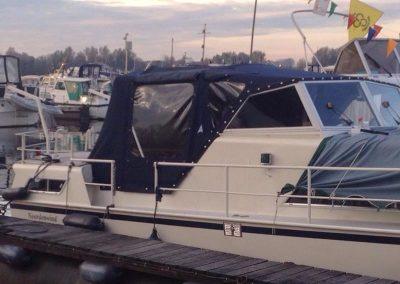 Cabriolet tent motorboot | Blauw
