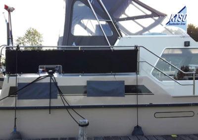 Kap bovenbesturing en railingkleden | Motorboot